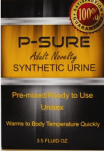 p-sure synthetic urine box