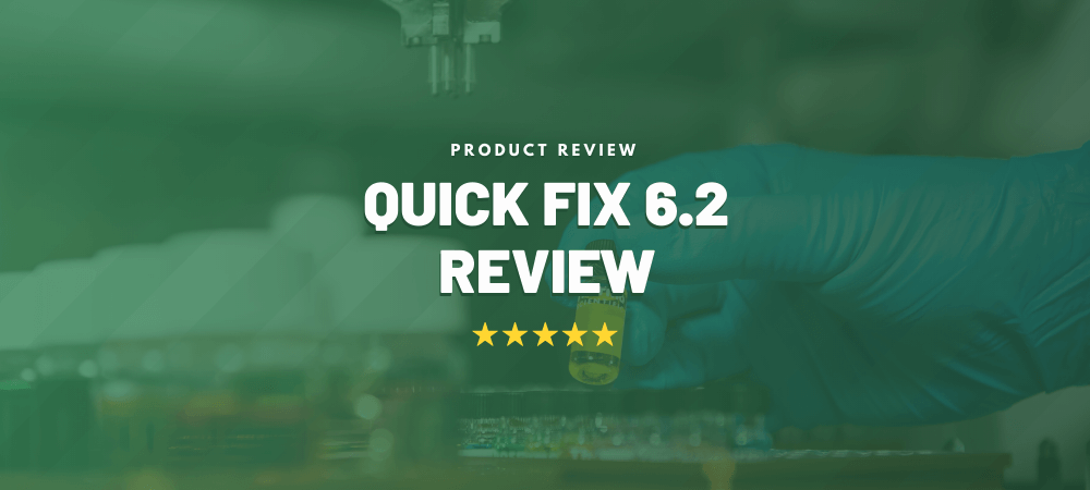 quick fix plus review