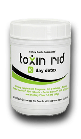toxin rid 10 day detox package