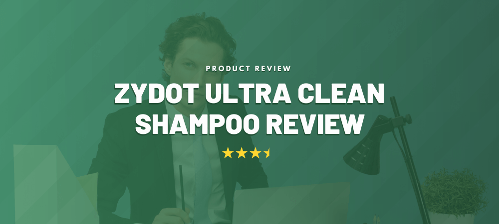 Zydot Ultra Clean Shampoo Review Thumbnail